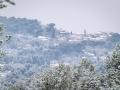 Ventabren sous la neige / Provence