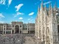 Piazza del duomo / Milan