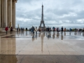 Parvis du palais de Chaillot/Paris