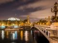 Pont Alexandre III et Grand Palais /Paris