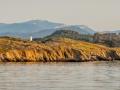 île du petit Langoustier / au levé du soleil