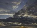 La maison du gouffre/sunset
